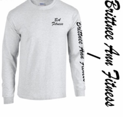 Long Sleeve Front Ash