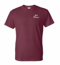 T-shirt Front Maroon